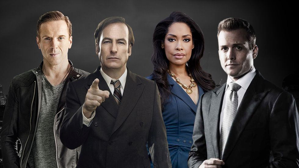 Spotlight and meganav image featuring Billions, Better Call Saul, Power and Suits.