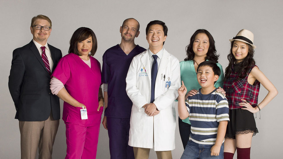 The cast of Dr Ken.