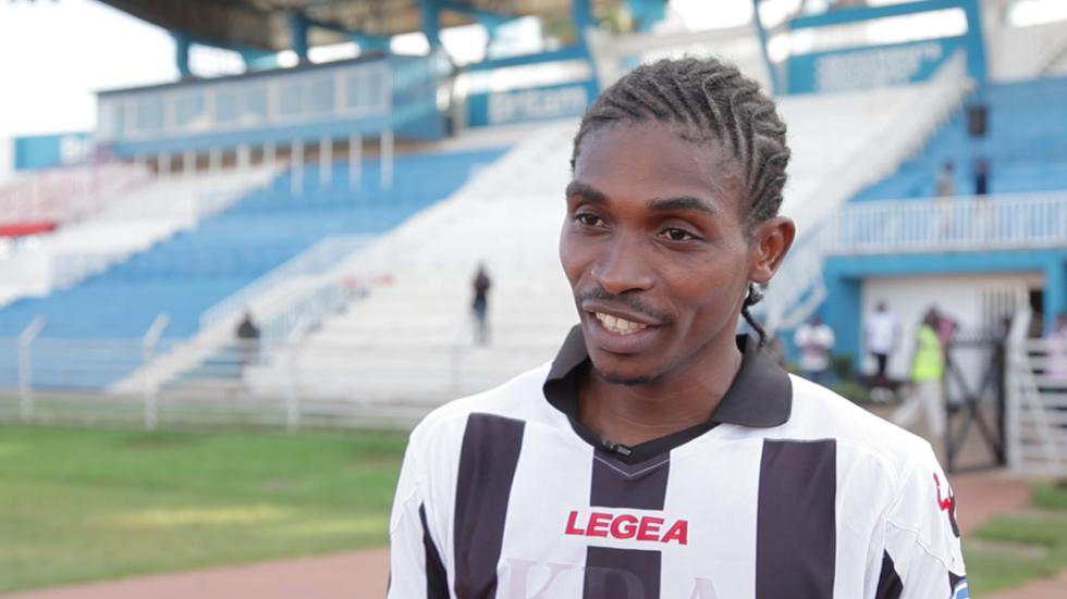 Ushuru FC striker Roosevelt Blaty