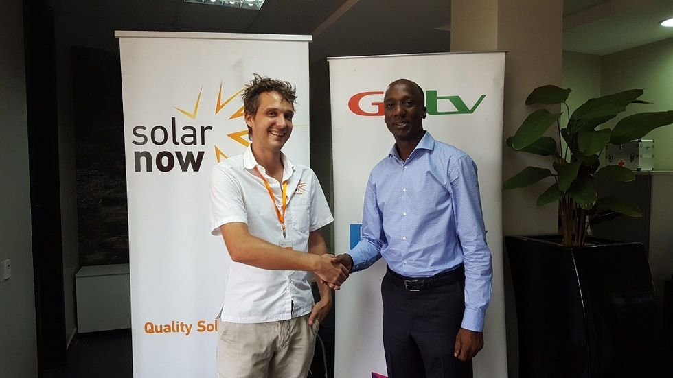GM MultiChoice Uganda and SolarNow Commercial Director