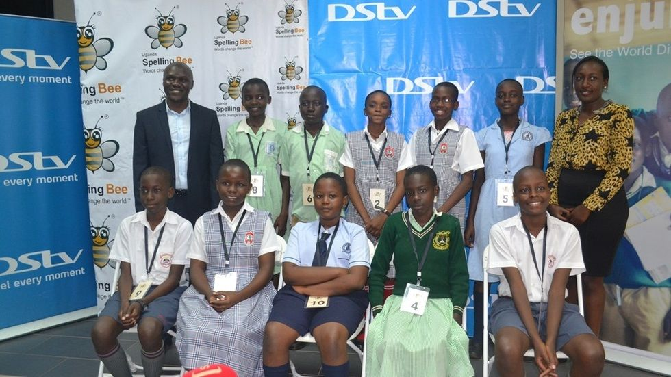 Uganda Spelling Bee competition
