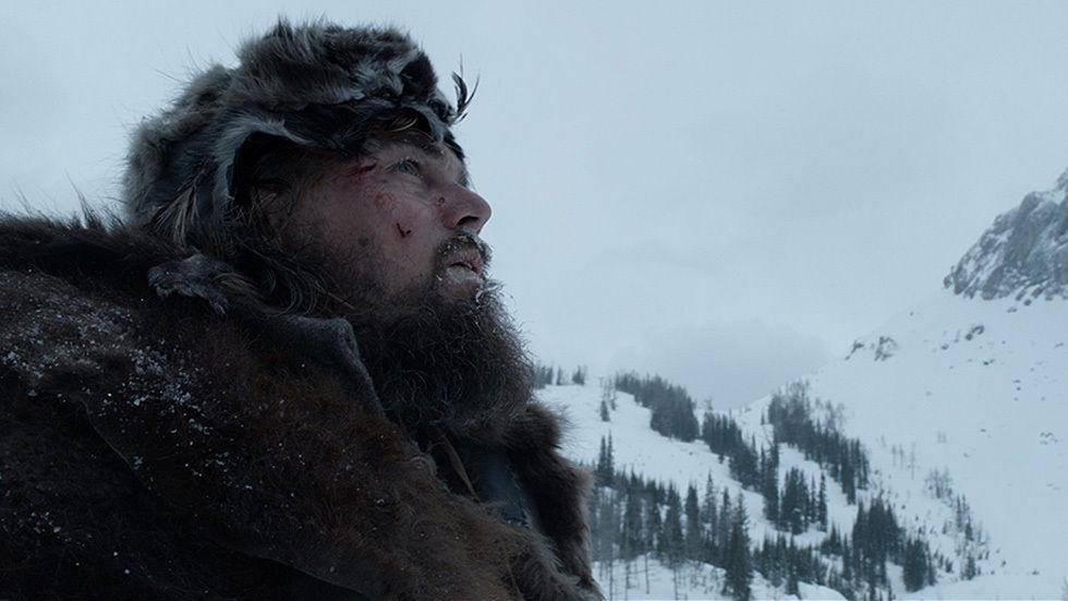Leonardo DiCaprio in The Revenant.