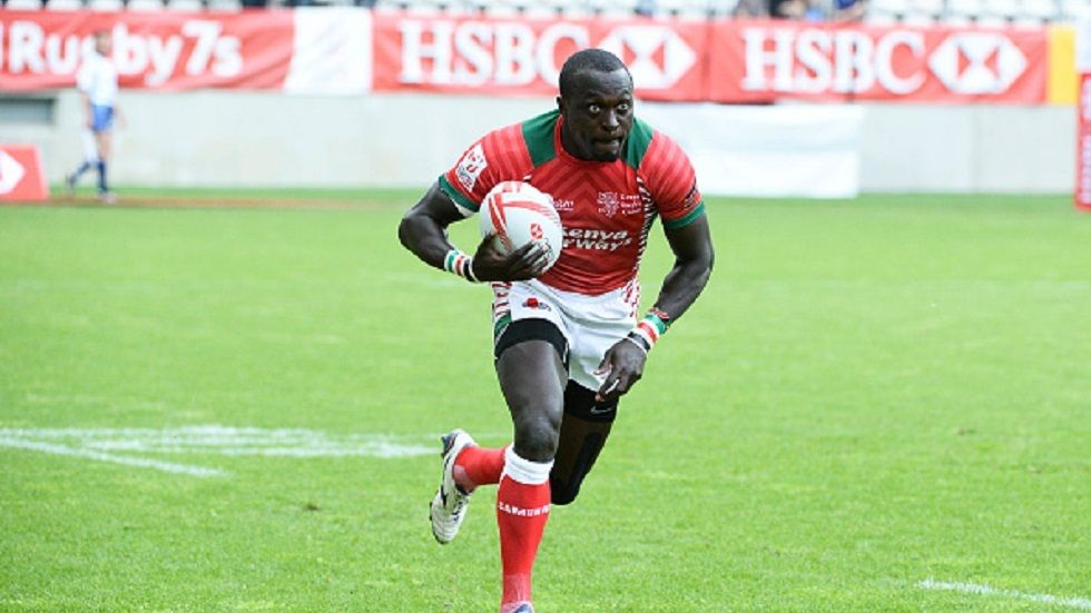 Kenya 7s player Collins Injera