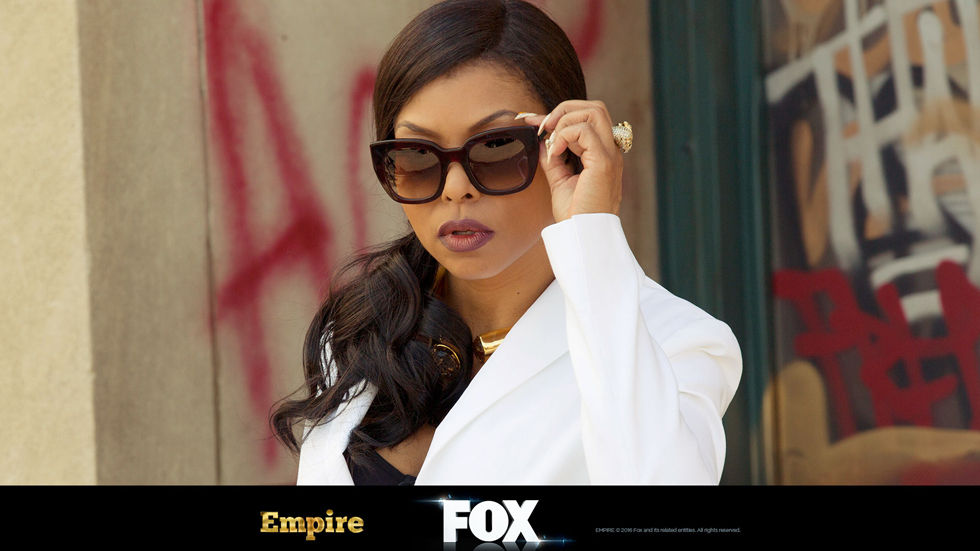 Taraji P. Henson as Cookie Lyon on the FOX musical drama, Empire