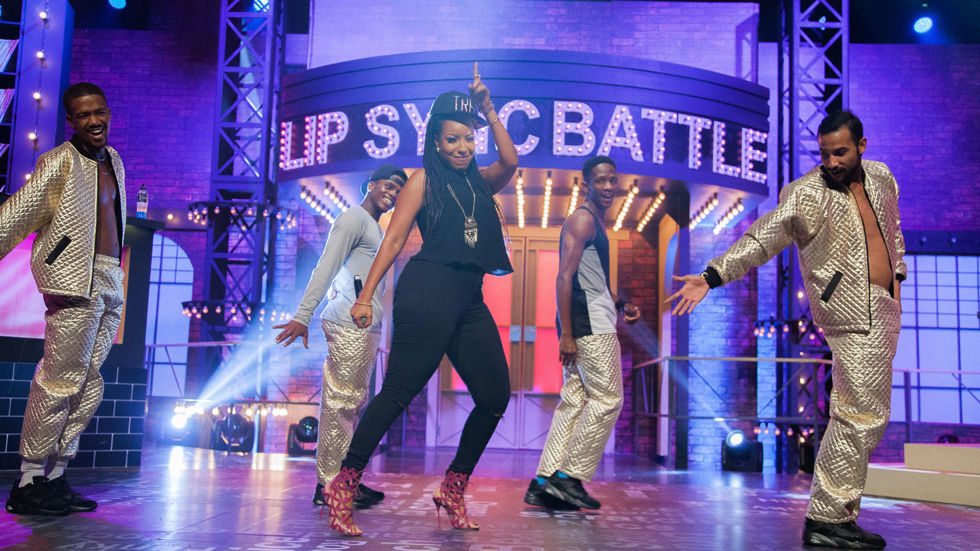Joselyn Dumas in MTV Base's Lip Sync Battle Africa