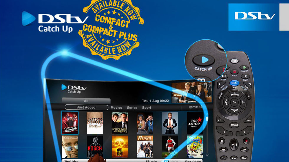 Artwork for DStv Nigeria - Catch Up available for DStv Compact and Compact Plus subscribers