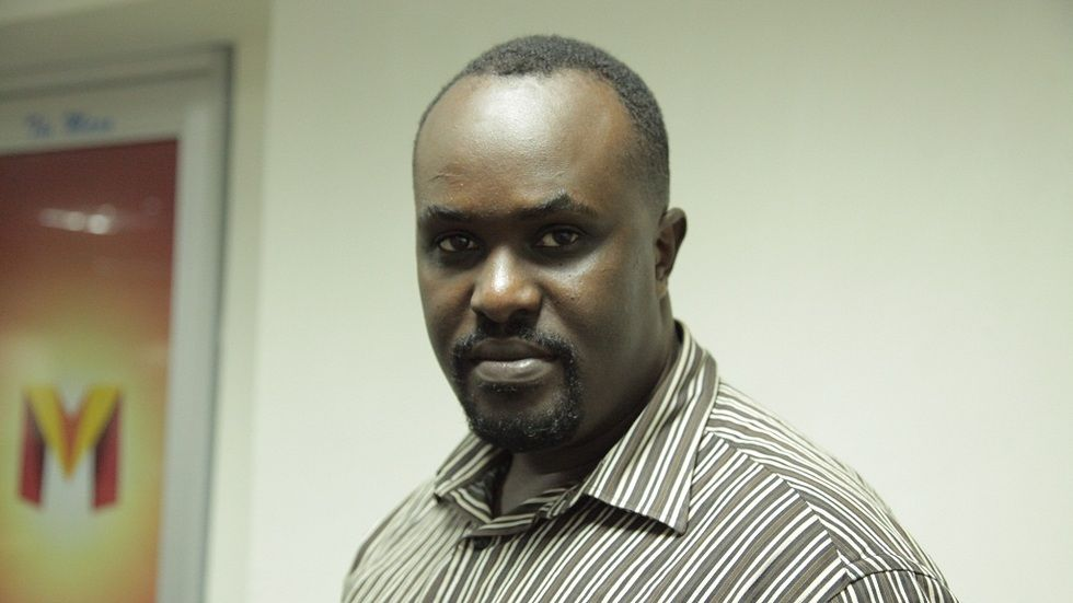 Kenyan actor Peter King