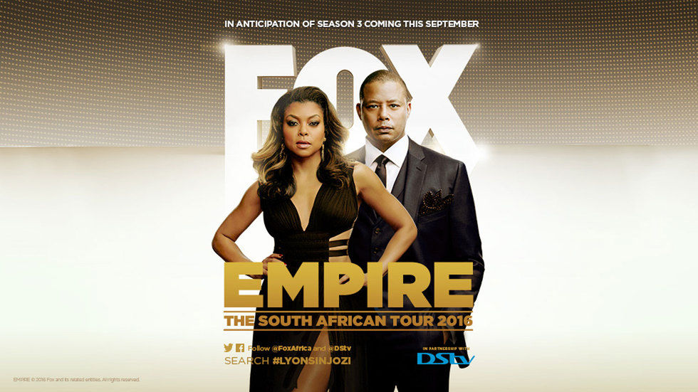 Empire stars Terrence Howard and Taraji P. Henson.