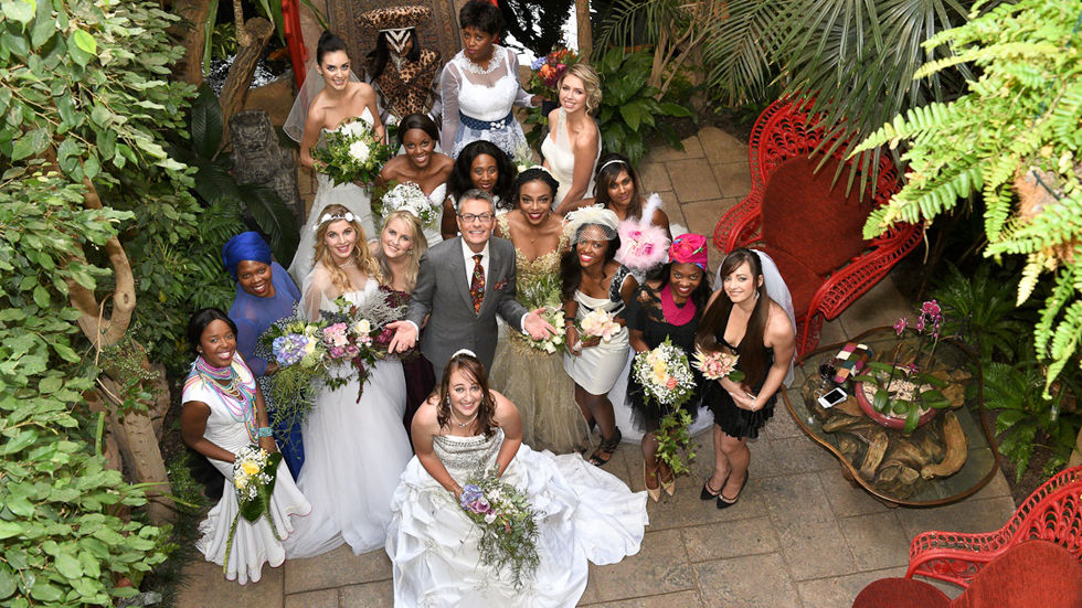 An image of Randy with brides at the Munro Boutique Hotel