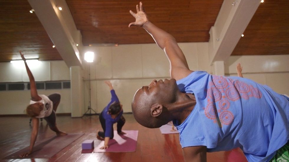 Kenyan Yoga instructor on African Voices