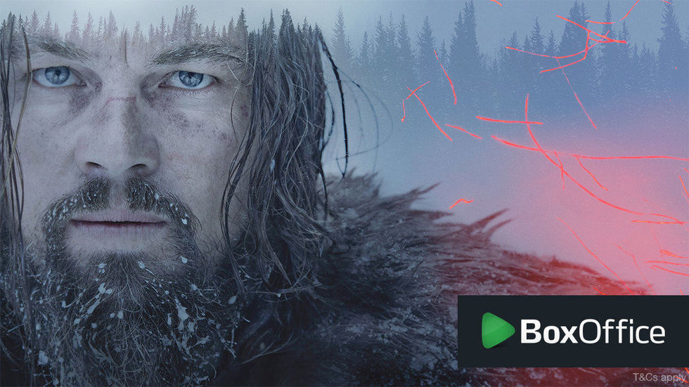 Leonnardo DiCaprio in The Revenant on BoxOffice