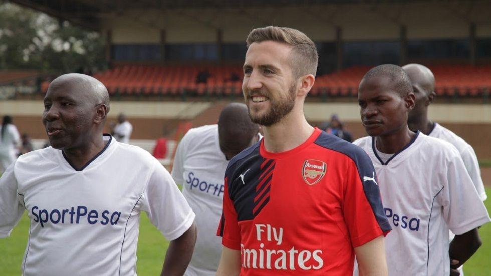 Arsenal Soccer Schools coach Drew Tyler