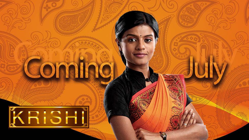 Artwork for the new show Krishi on Zee World
