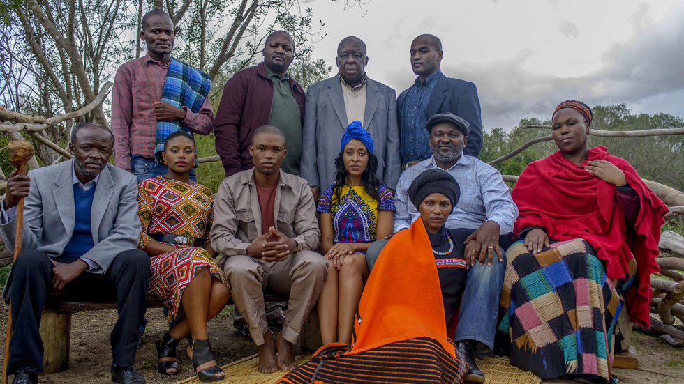 The cast of Isikizi.