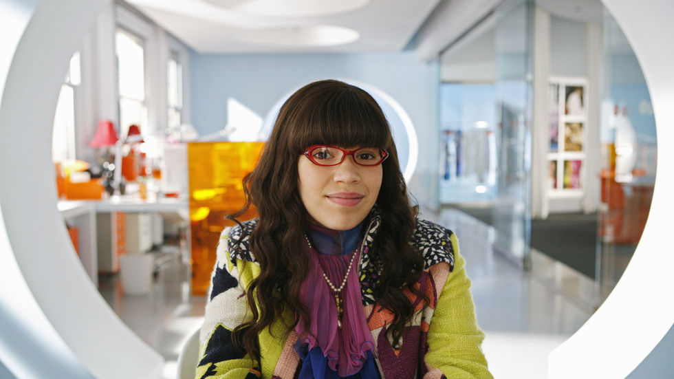 America Ferrera as Betty Suarez.