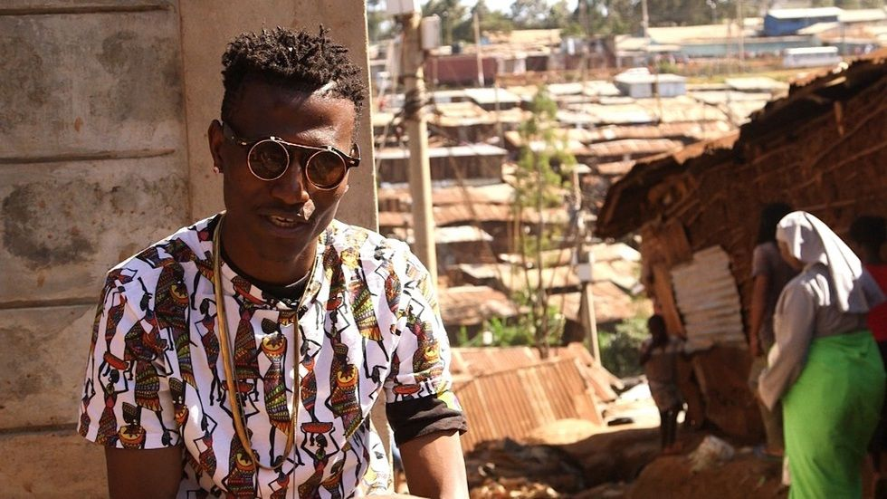 Kenyan rapper Octopizzo in African Voices on CNN
