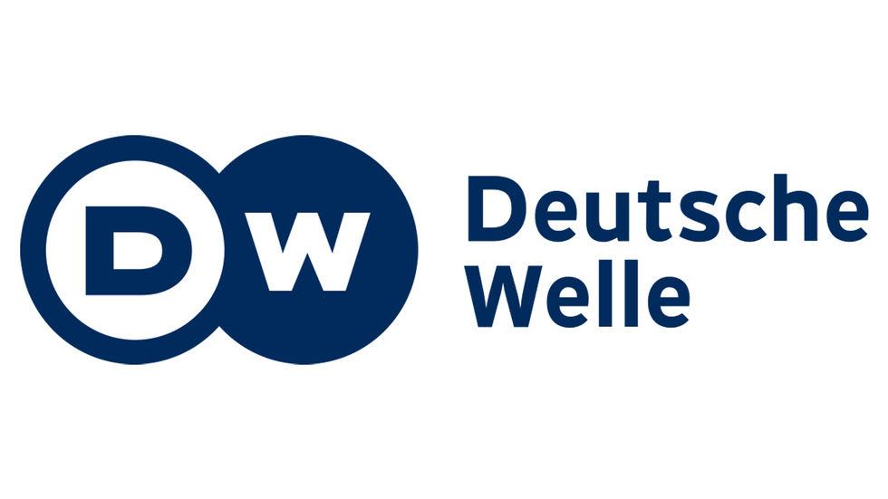 Deutsche Welle logo.