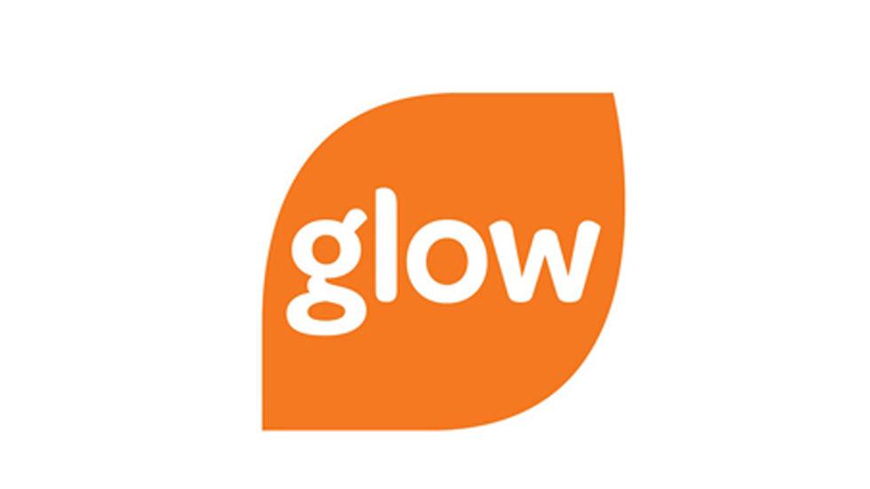 Glow TV logo.