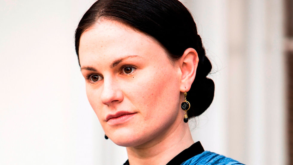 Anna Paquin as Nancy Holt in Roots on HISTORY, DStv channel 186