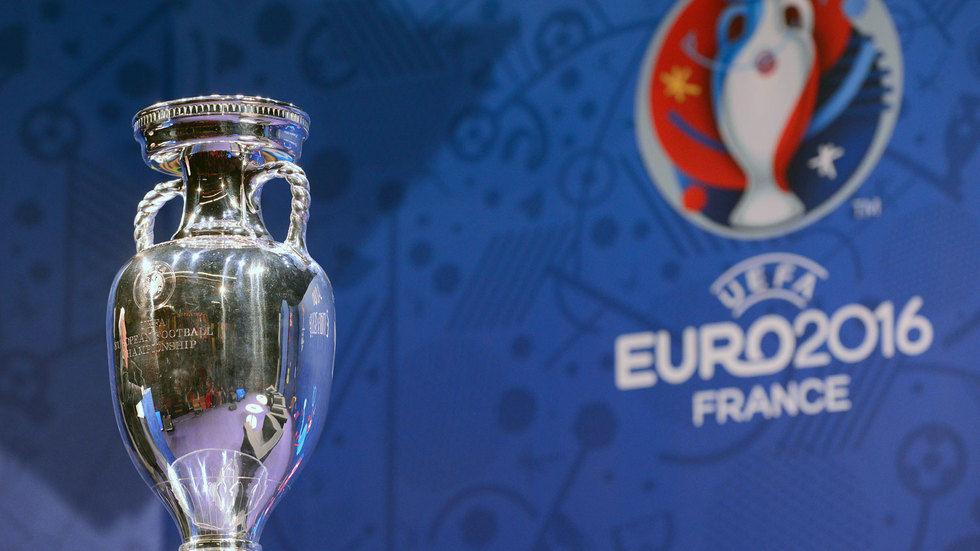 Euro 2016 trophy.