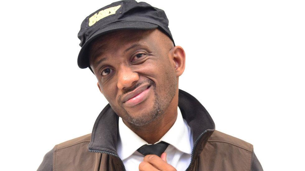 South African comedian David Kau.