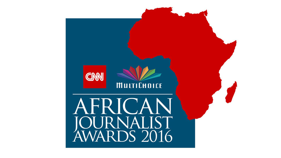 Logo for the 2016 CNN MultiChoice Journalist Awards