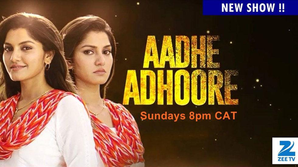 Aadhe Adhoore billboard.