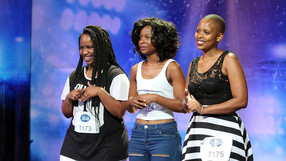 Msibi Sisters audition.