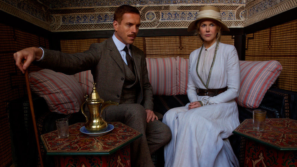 Still from Queen of the Desert.