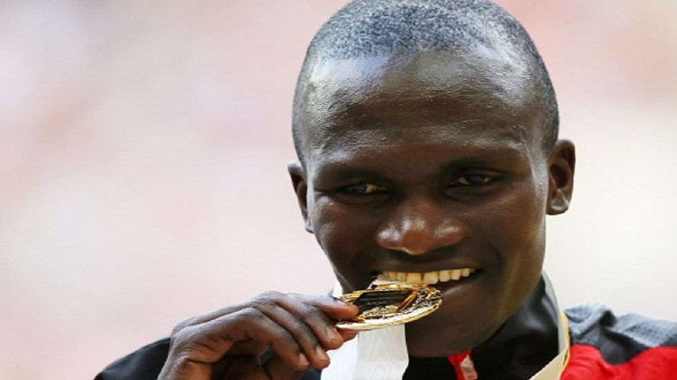 Olympic gold medalist Stephen Kiprotich