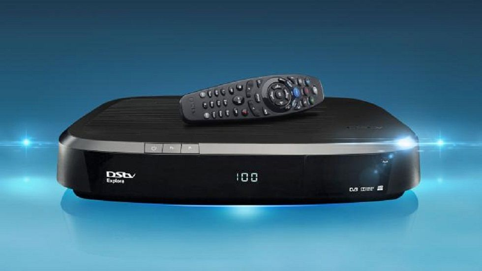 The DStv Explora with a remote