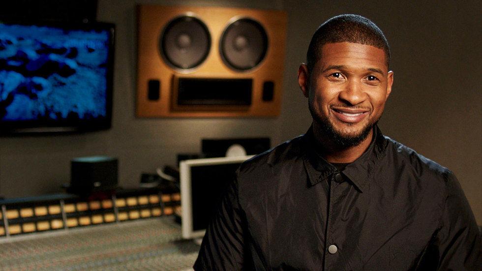 Recording artist Usher Raymond.