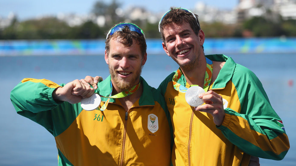 SA takes silver in rowing at Rio 2016