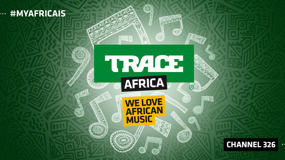 Logo for TRACE Africa, DStv channel 326
