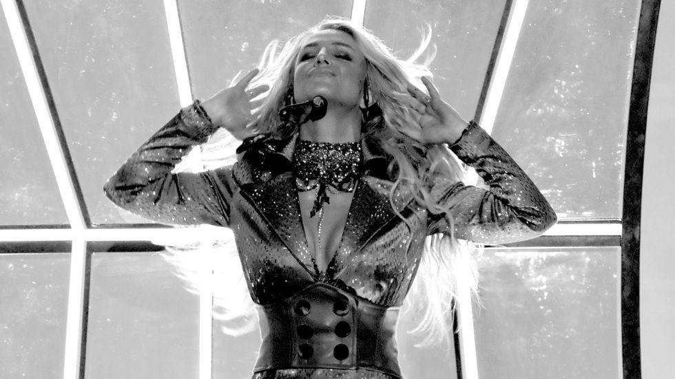 Recording artist Britney Spears.