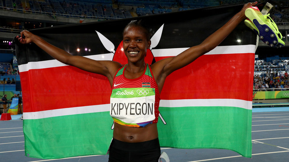 Faith Kipyegon wins another gold for Kenya