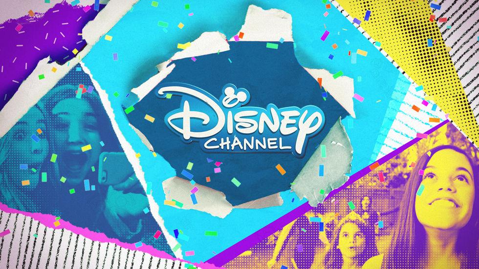 Artwork for Disney Channel birthday celebrations