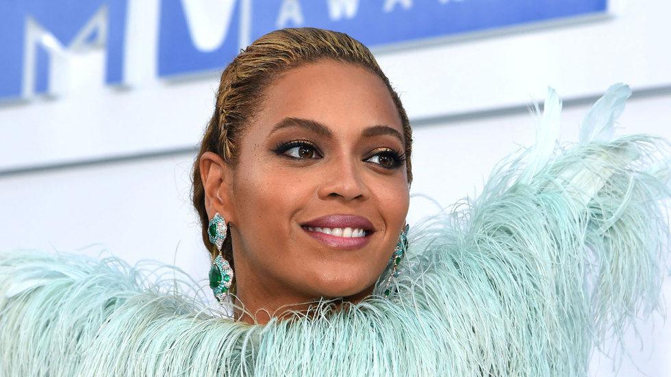 Recording artist, Beyonce.