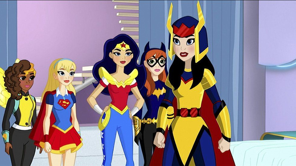 DC Superhero girls on BoxOffice.