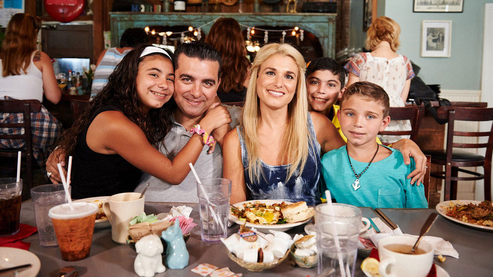 Buddy Valastro and his family.