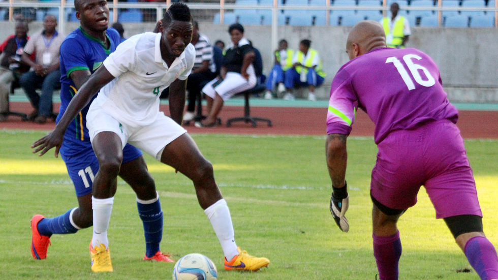 Kenneth Omeruo defends the ball.