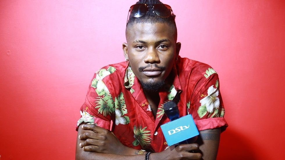Rapper kutoka Nigeria YCEE akiwa Tanzania