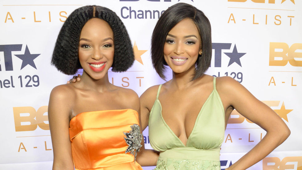 An image of The A- List presenters Nandi and Ayanda