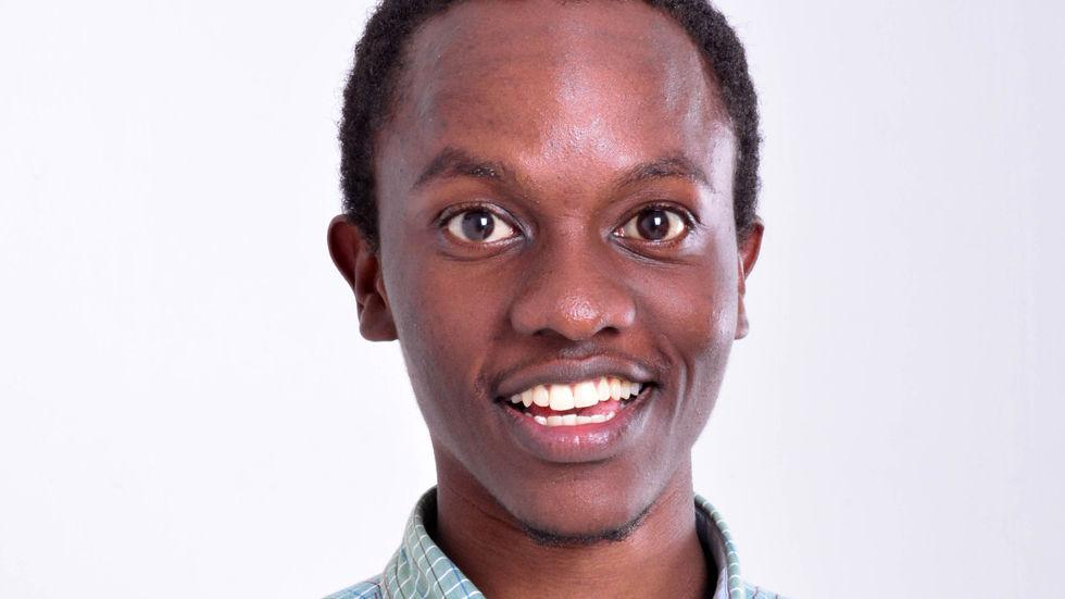 Charlie Karumi, finalist in TLC's Next Great Presenter search