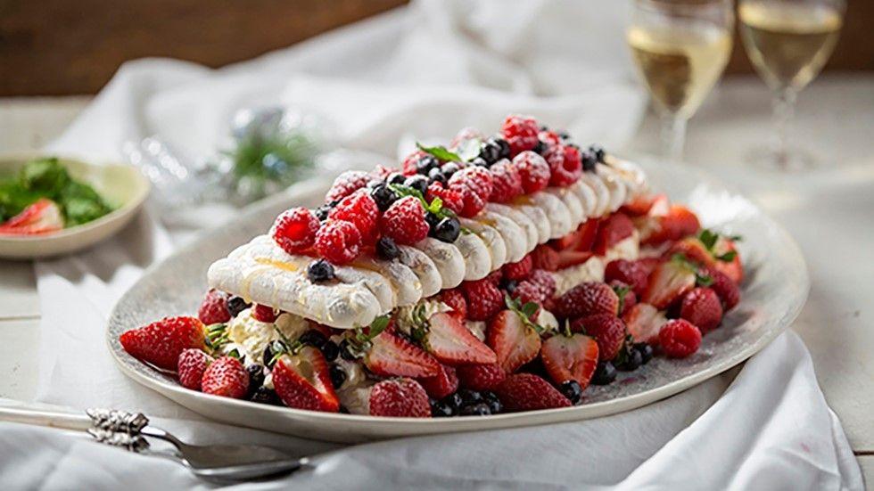 Jenny Morris, Berry Meringue Slice, Food Network, new, recipe