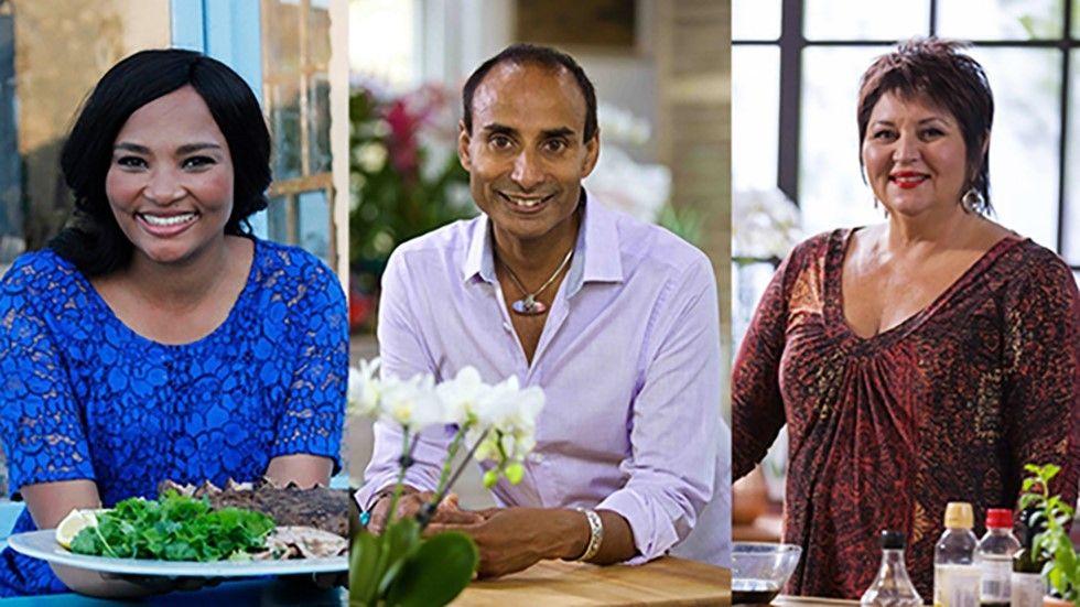 Siba, Reza, Jenny, chef, Food Network, DStv, Delicious Festival