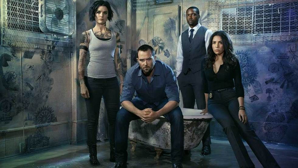 The main cast of Blindspot.