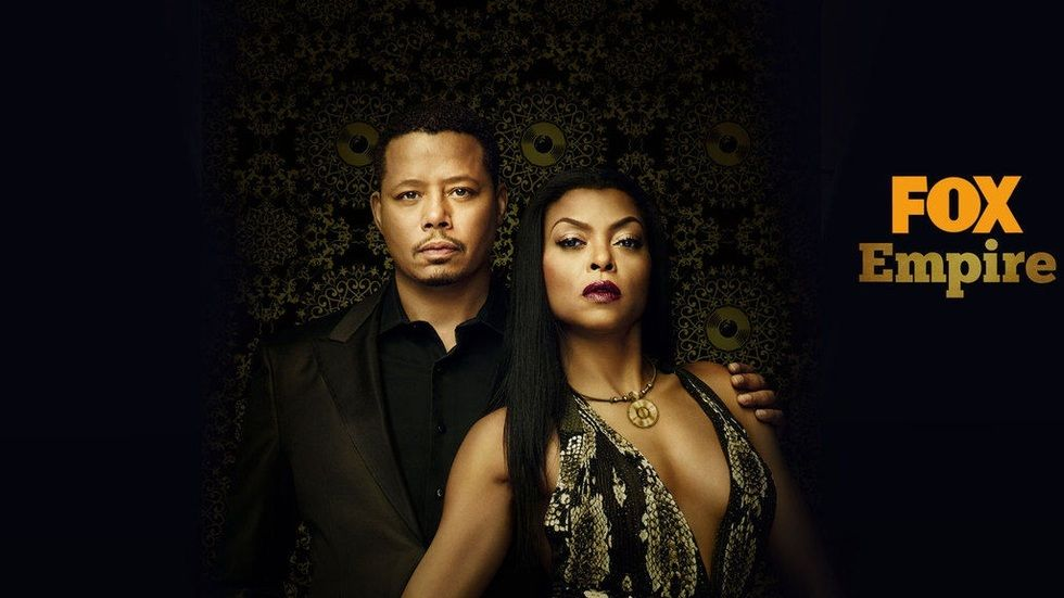 Lucious and Cookie Lyon on Empire S3 on FOX