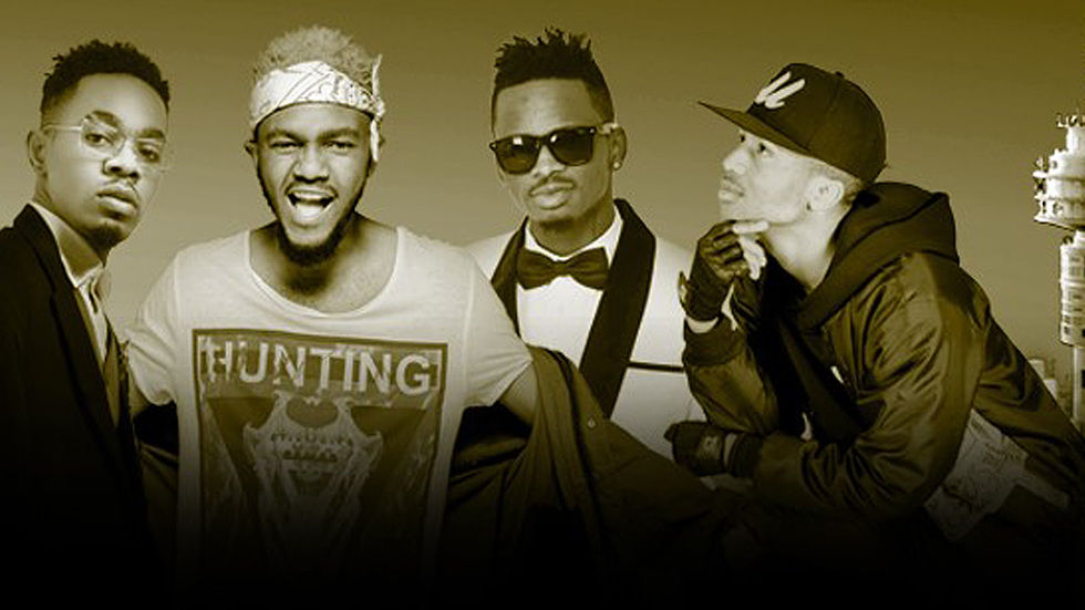Diamond, Emtee, Kwesta and Patoranking.