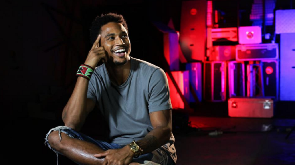 Trey Songz at Coke Studio Africa